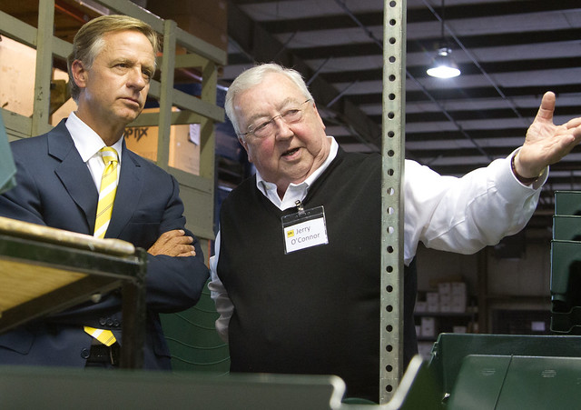 Gerald O Connor and Governor Haslam