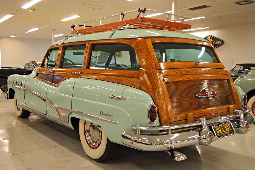 1951 Buick Roadmaster Woodie Station Wagon '8W1 381' 06 ...