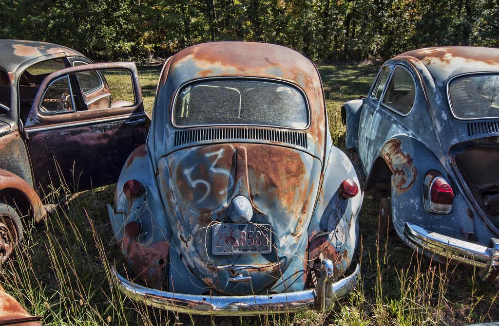 Vw Bus Trip Herbie Bug Way Out Salvage Arkansas Mark