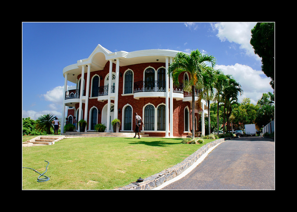 Brian lara cricket house trinidad provic flickr for House pictures