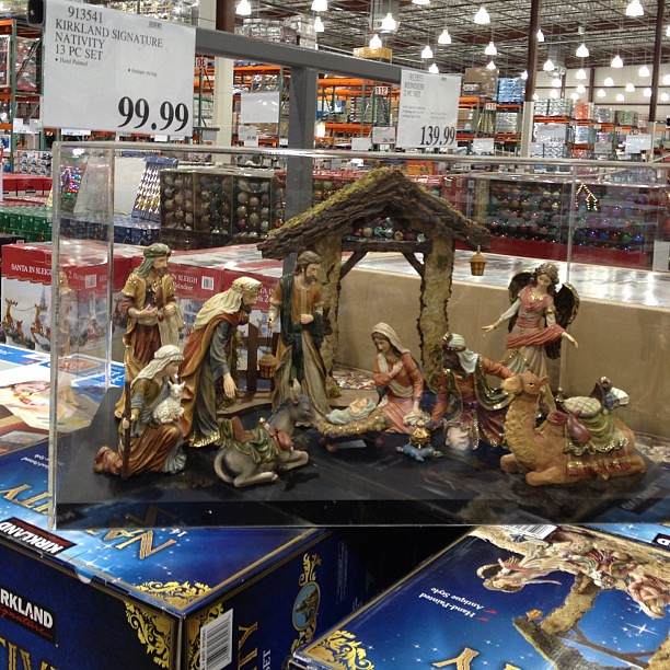 Yesterday I Saw That Costco Already Has Nativity Sets Avai