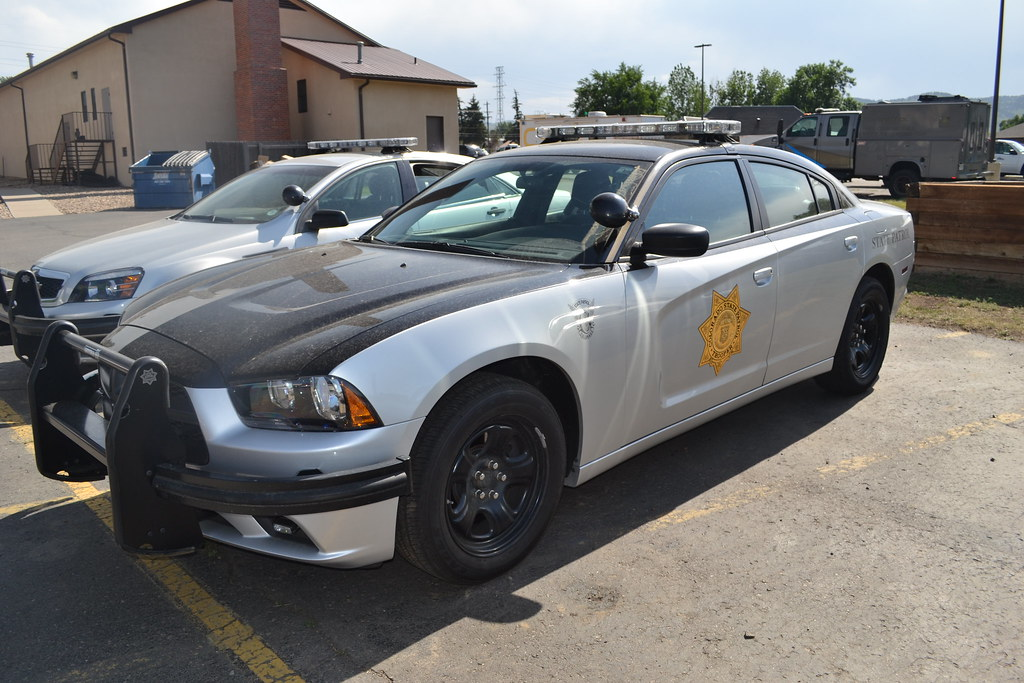 Colorado State Patrol ... Dodge Charger 2014 Blue