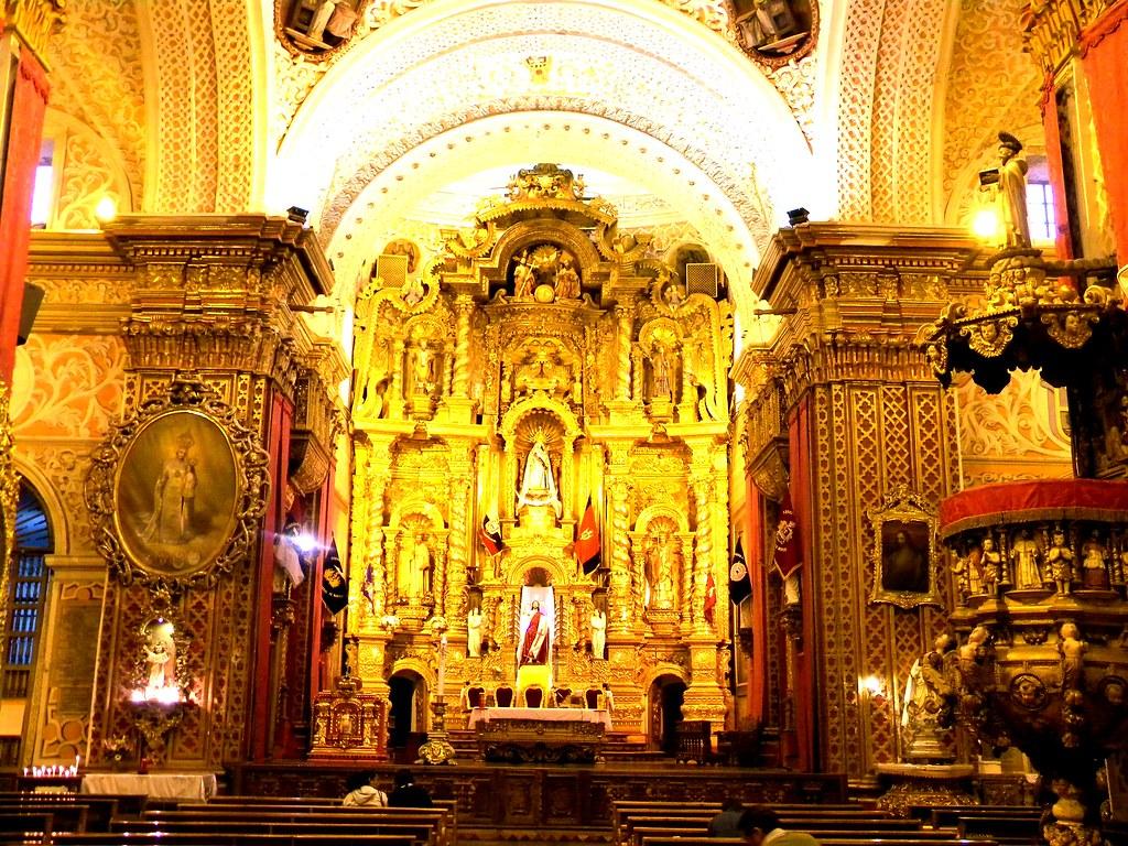 Iglesia la merced quito ecuador marcelo jaramillo for Diseno de interiores quito