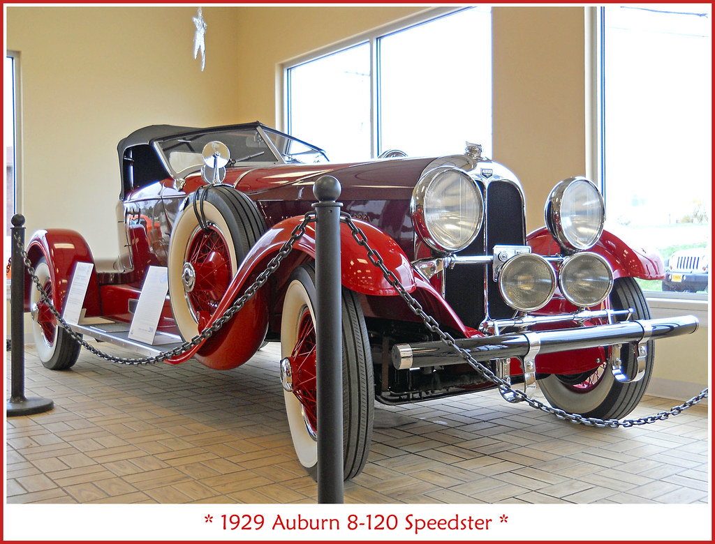 1929 Auburn 8-120 Speedster | I took this photo at Jack Dunn… | Flickr