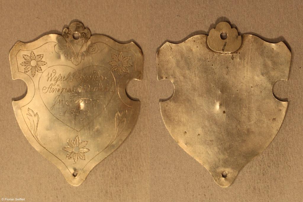 Koenigsschild Flittard von roggendorf wessel aus dem Jahr 1809