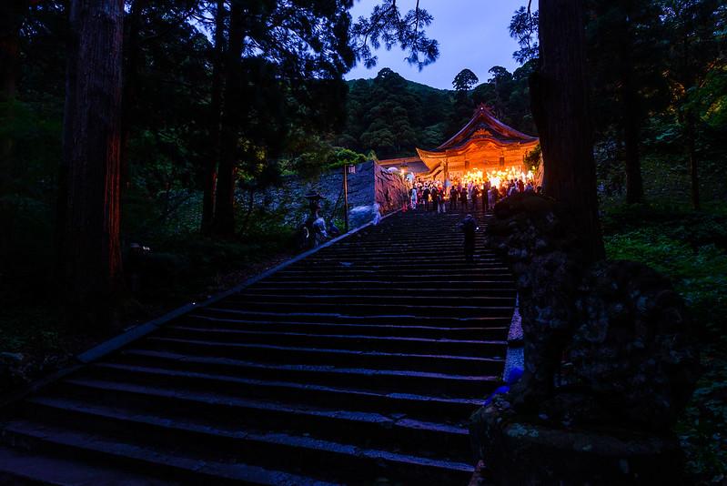 大山夏山開き祭 2016.6-5