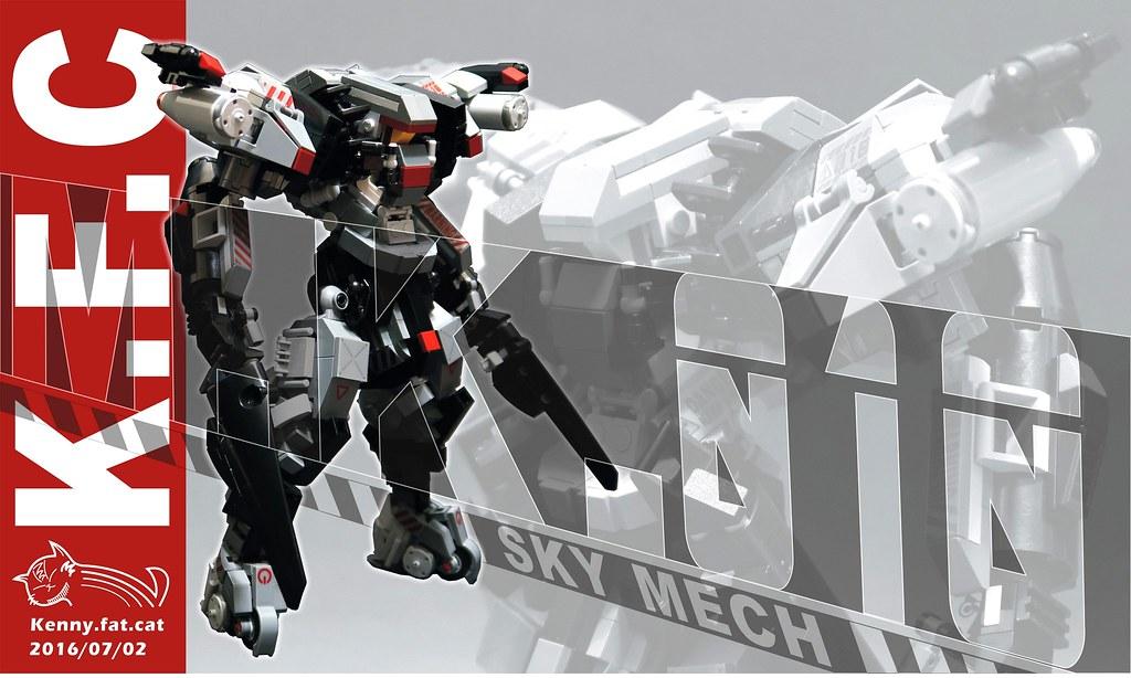 【肥貓˙重工】人型機甲M.K.-010 Sky Mech 飛行機甲