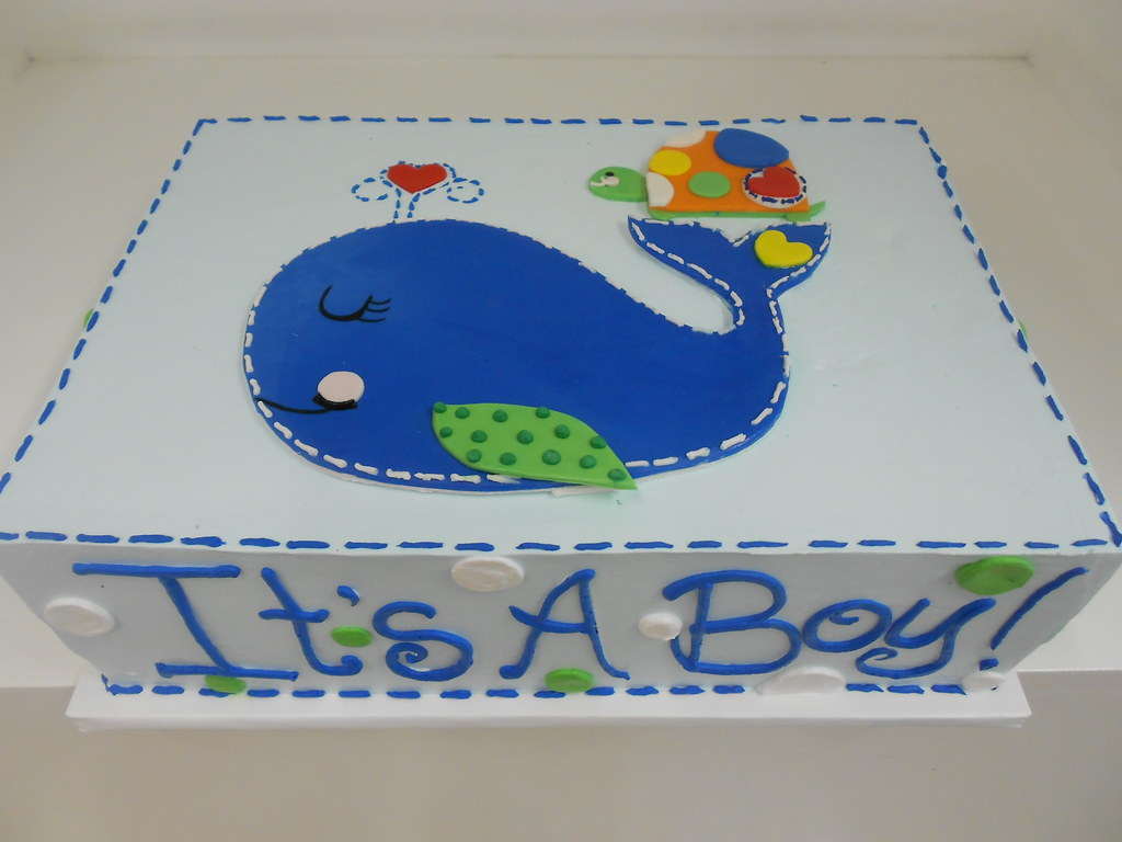 whale baby shower cake 2028