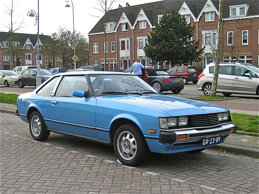 New Toyota Celica >> 1981 TOYOTA Celica 1600 ST Coupe | 2nd time I saw this attra… | Flickr