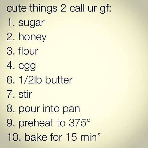 Romantic things to call your girlfriend