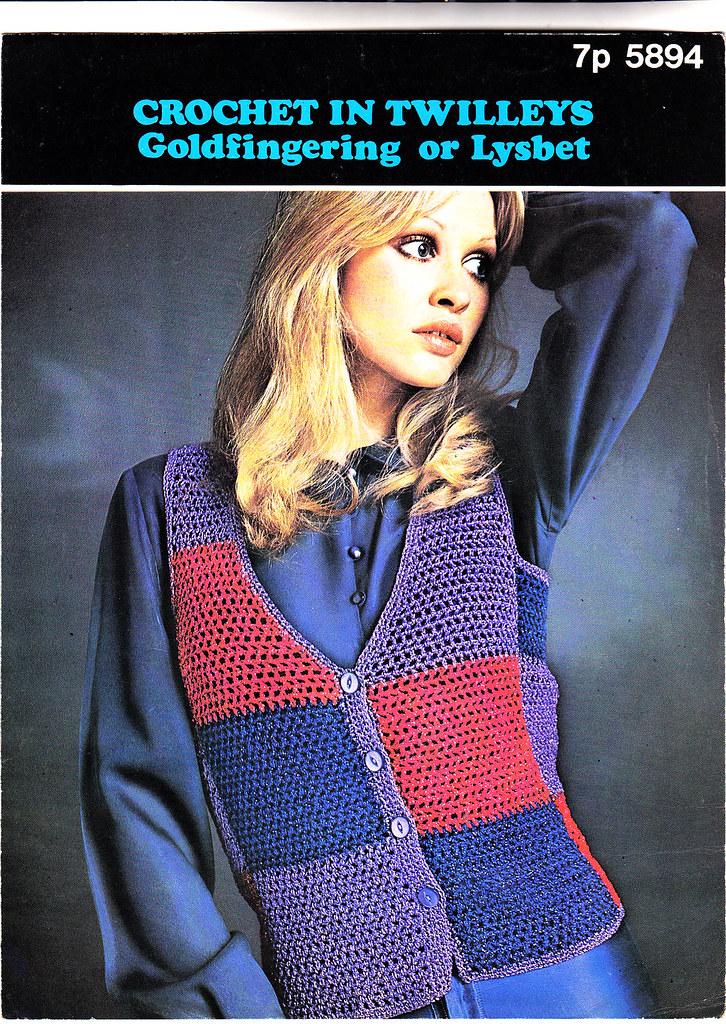 70s Crochet Waistcoat Pattern | uk.ebid.net/for-sale/5894-tw… | Flickr