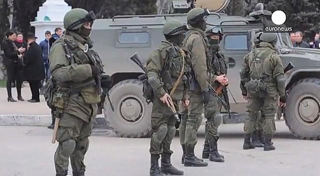Tropas Rusas en Crimea