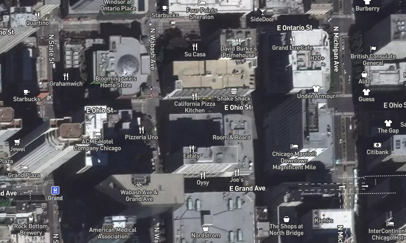 chicago illinois - poi detail