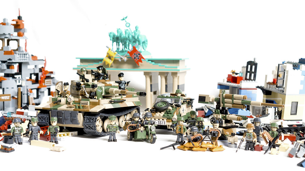 Final Stand Battle Of Berlin Cobi Small Army Wwii
