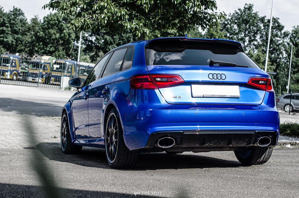 2015 Audi Rs3 8v Sepang Blue Sepang Blue Rs3 8v With Bbs