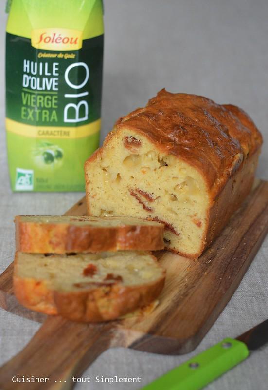 Cake sal comt moutarde tomates s ch es cuisiner tout simplement le blog de cuisine - Cuisiner les tomates sechees ...