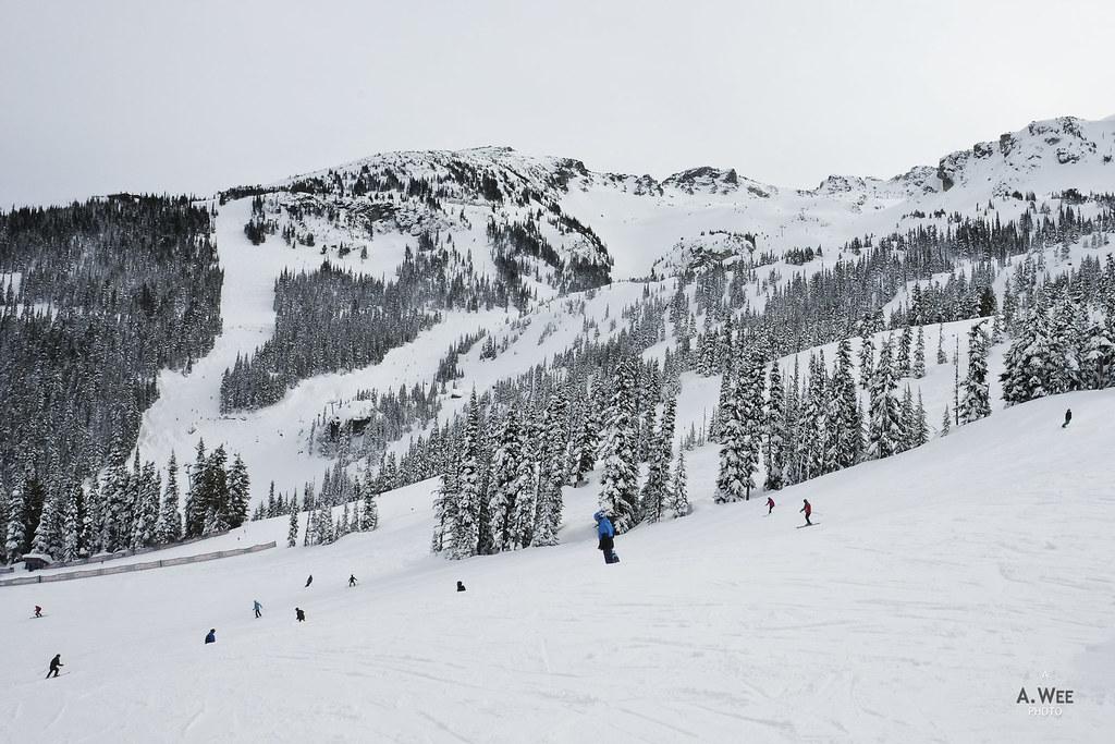 Glacier ski area