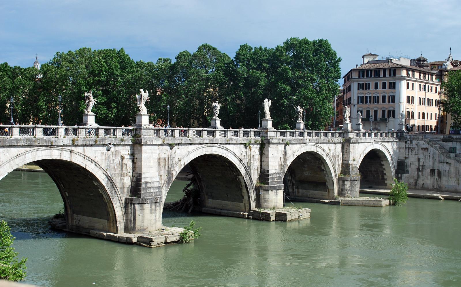 Ponte Sant'Angelo, Rome, Lazio, Italy