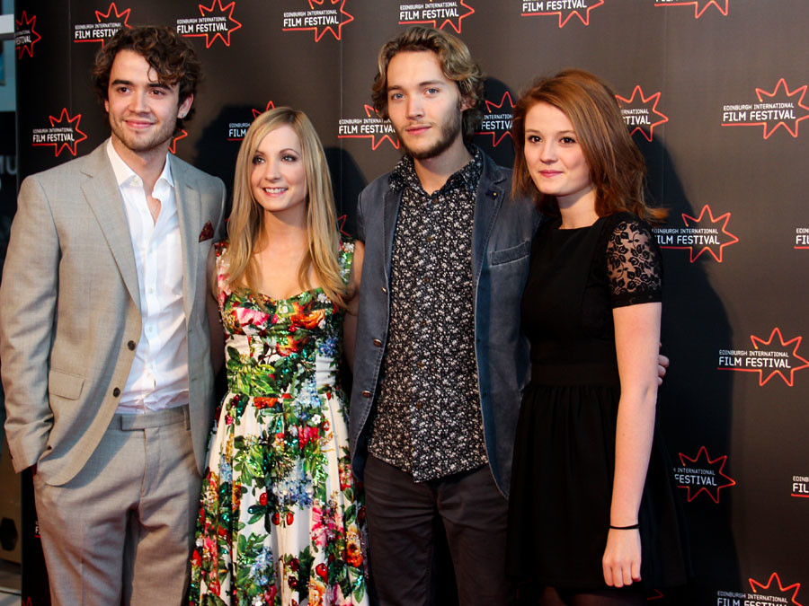 jamie blackley joanne froggatt toby regbo and amy wren a
