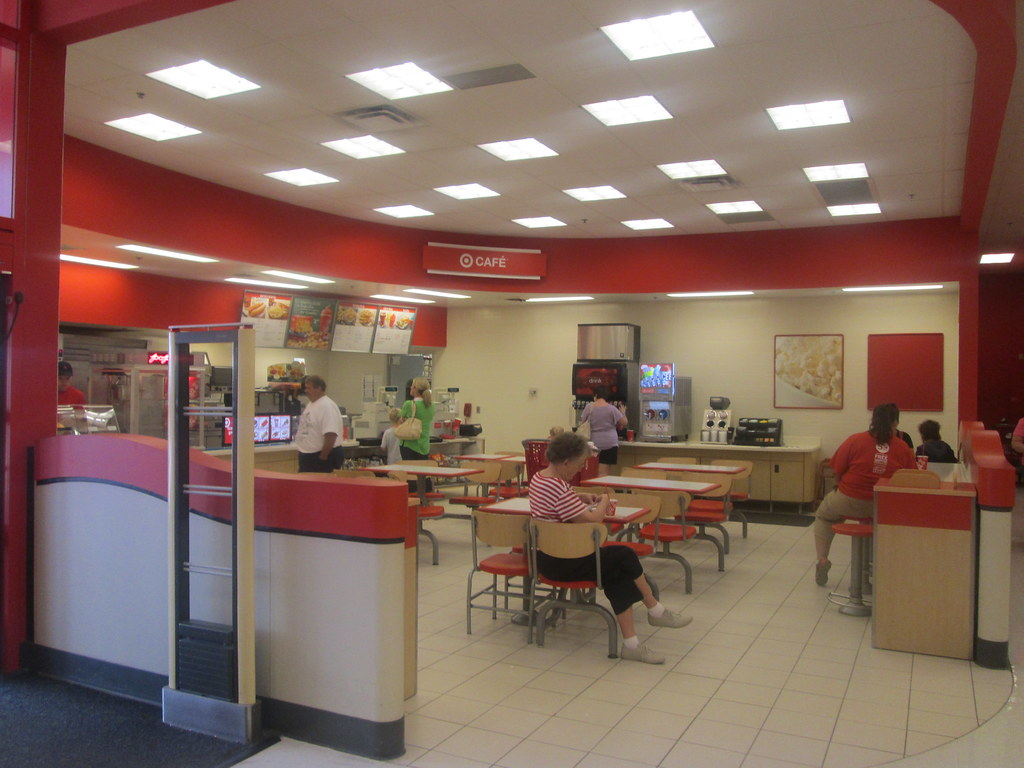 Target Cafe Pizza Hut Menu