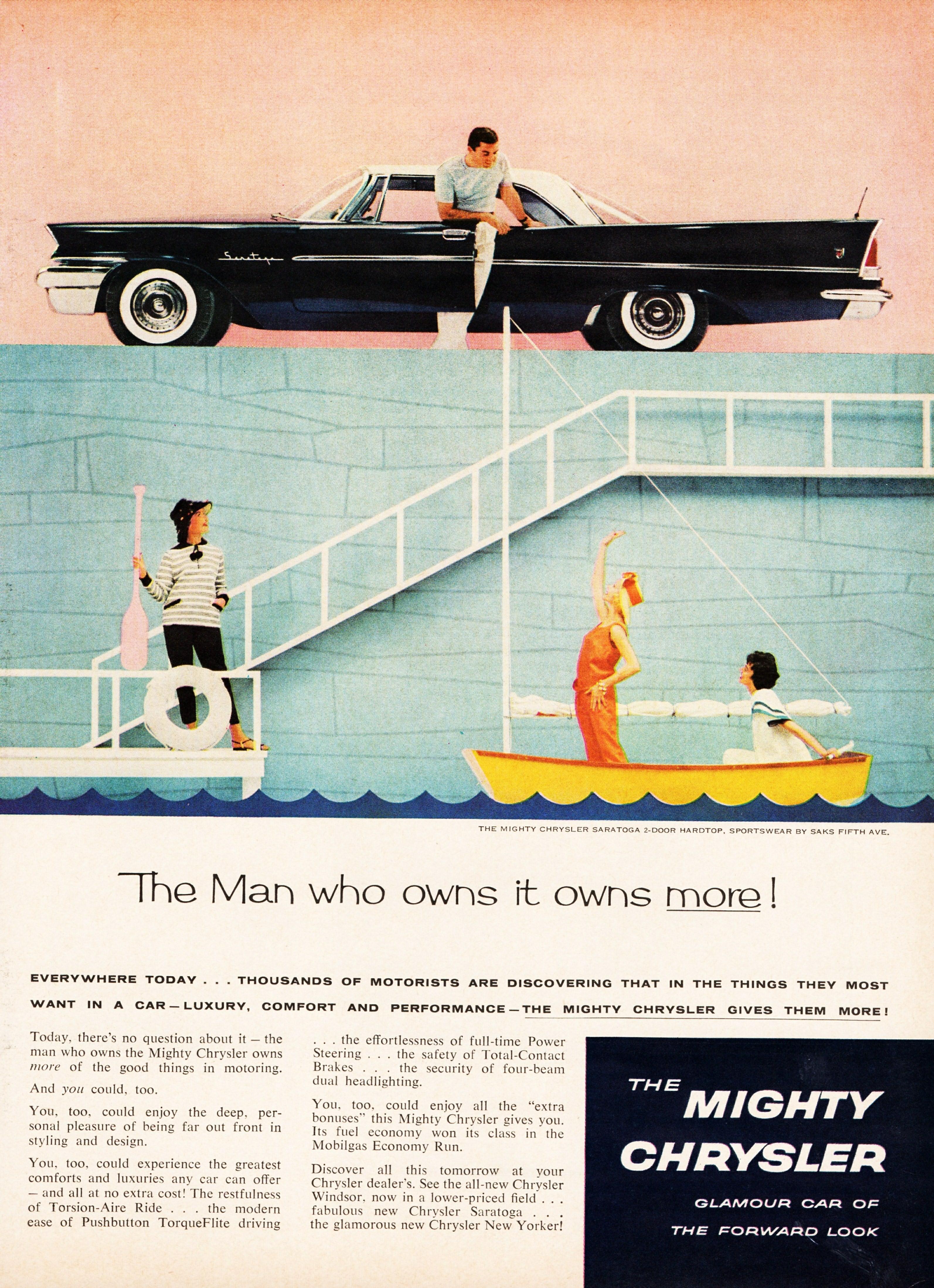 1958 Chrysler Saratoga 2-Door Hardtop