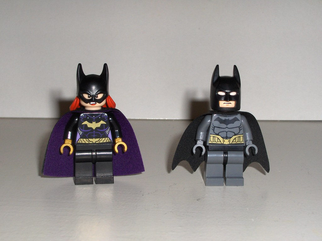 Batgirl and Batman 2014...now! | I got them today. Added a ...