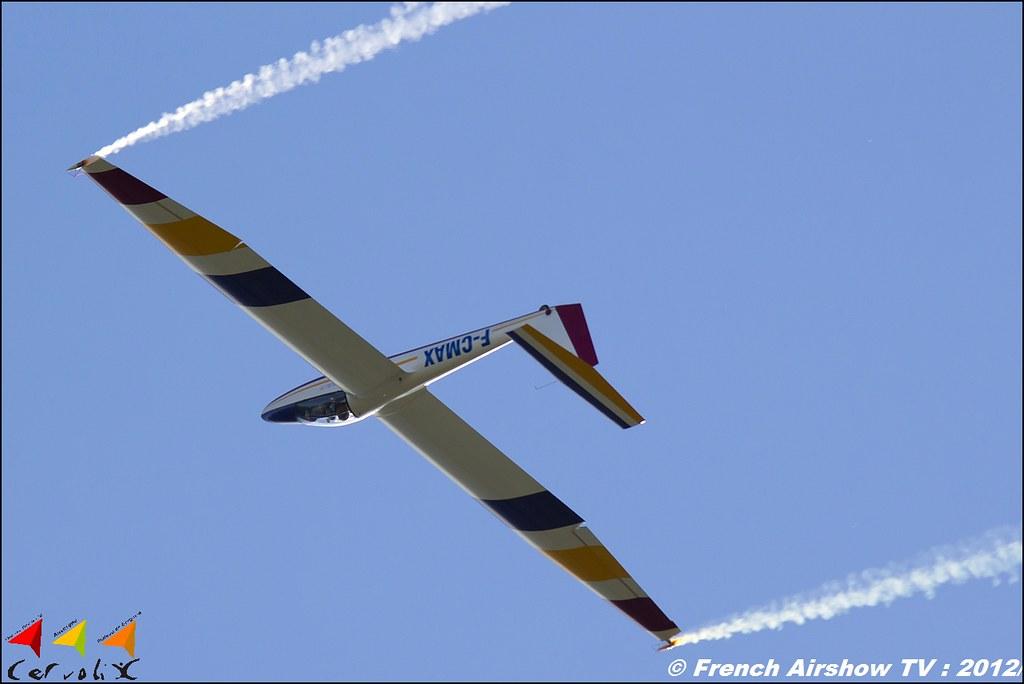 Pilatus B4 planeur voltige F-CMAX Denis HARTMANN Cervolix Plateau de Gergovie Auvergne Comment faire photos de Meeting Aerien 2012