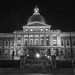 The Massachusetts State House - Black and White