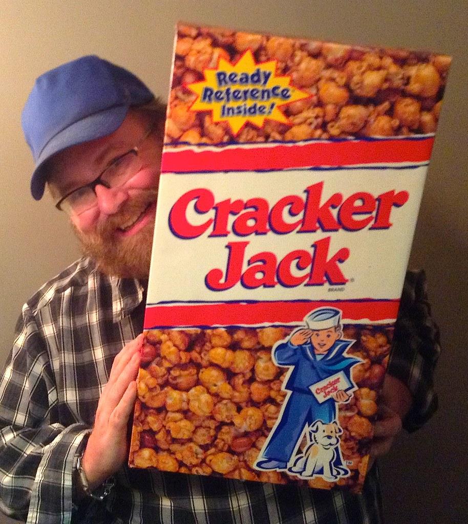 Cracker Jacks Giant Cracker Jacks Box That Mike Mozart