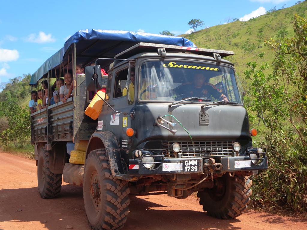 Bedford Truck A Bedford Truck Carrying Amerindian