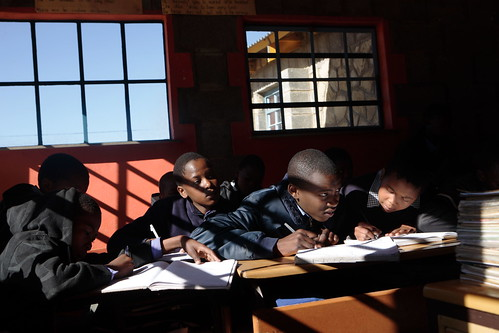 Lesotho - Maseru Qoaling School - John Hogg - 090626 (9) | by World Bank Photo Collection