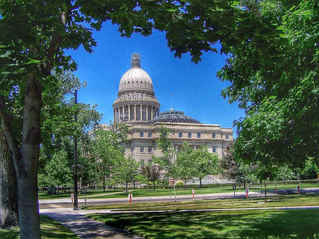 Boise Idaho ~ Idaho State Capitol ~ Historic Building