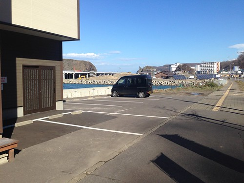 hokkaido-shiretoko-namishibuki-parking