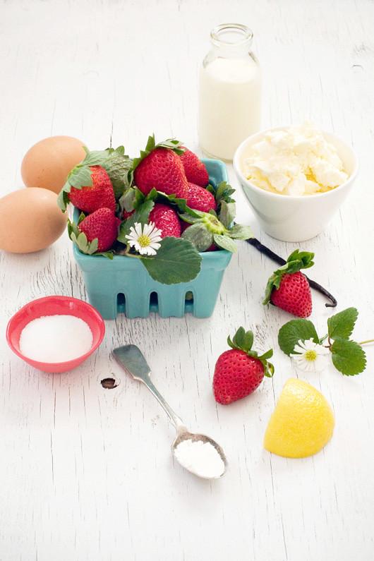 Strawberry Swirl Cheesecake Pound Cake