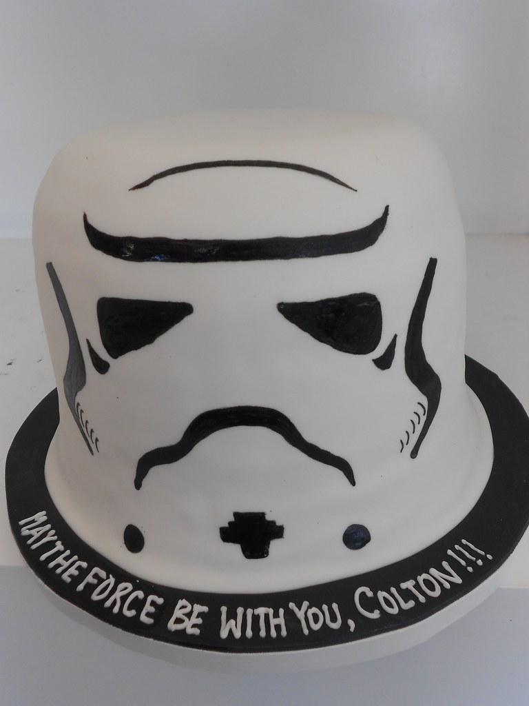 White Storm Trooper Cake Pan