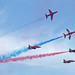 Red Arrows at Clacton Air Show 2013