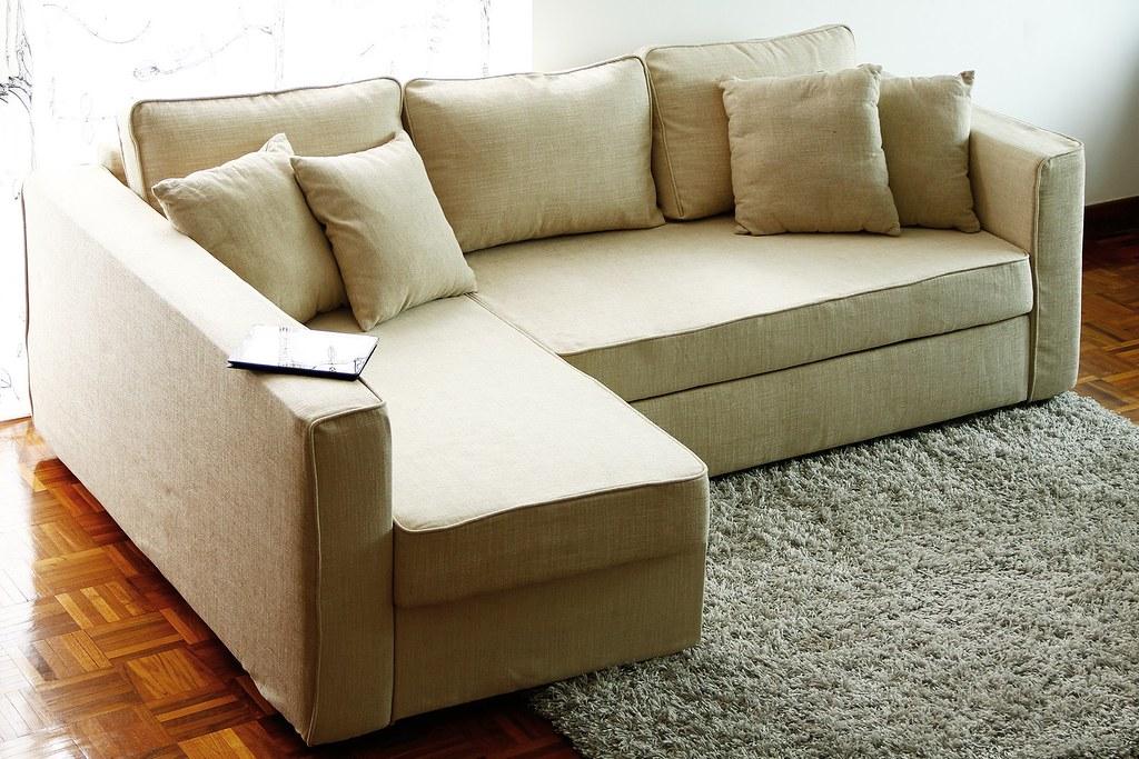 IKEA Manstad Sofa Cover | Snug Fit Style Slipcover + Linen Cu2026 | Flickr