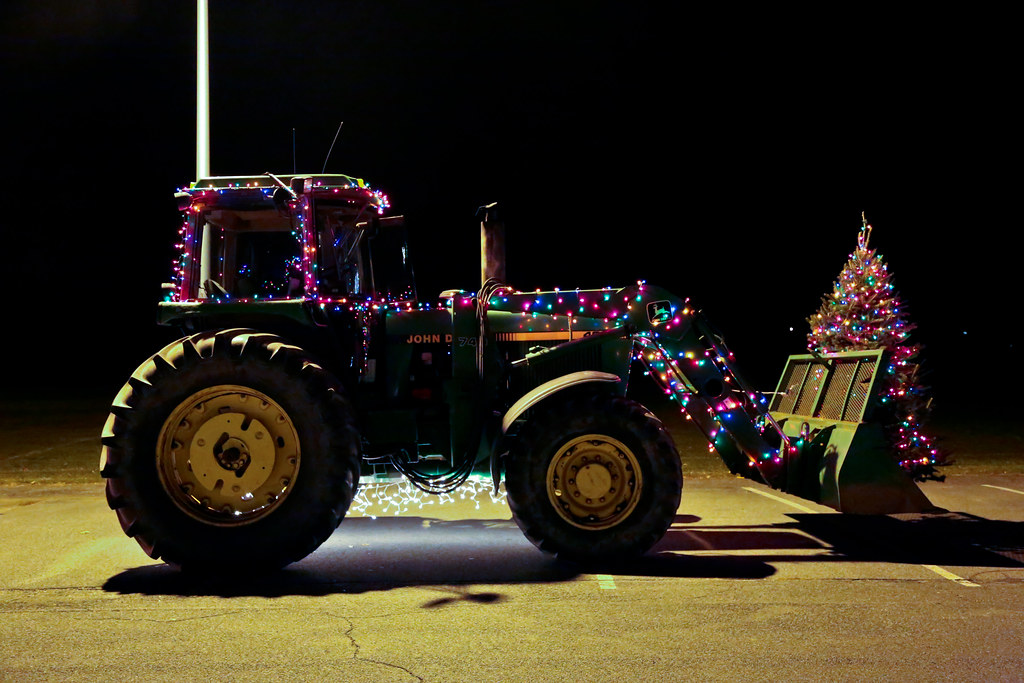 Greenwich Holiday Lighted Tractor Parade | John Deere | Flickr