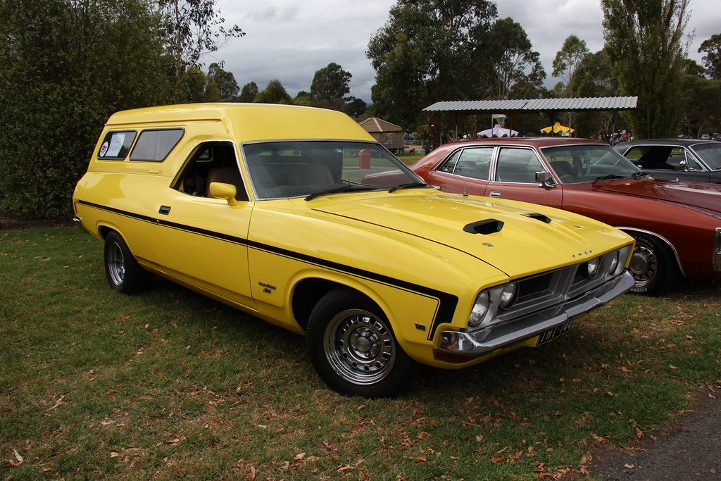 1974 Ford Xb Falcon Gs Van The Xb Falcon Was Built From