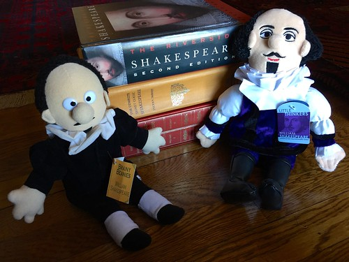Shakespeare dolls and books June 2016