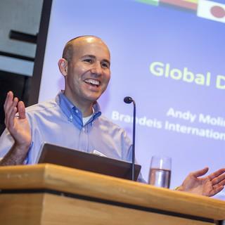 Professor Andy Molinsky at Brandeis International Business School
