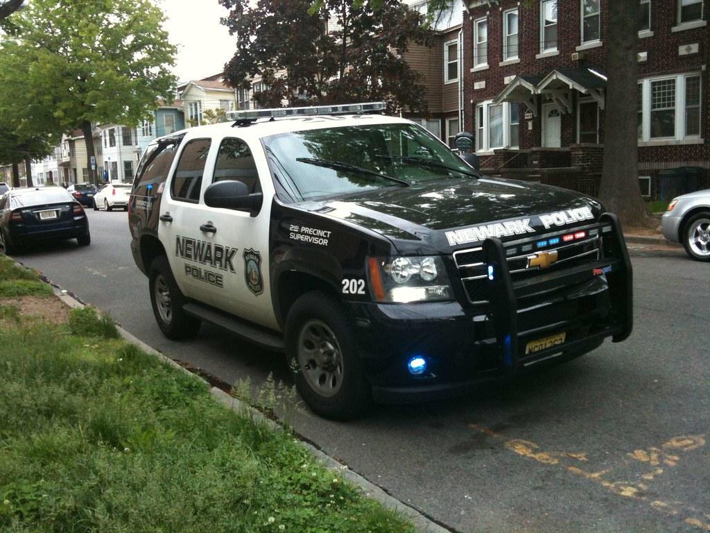 newark nj police tahoe car 202 supervisor front right c flickr. Black Bedroom Furniture Sets. Home Design Ideas