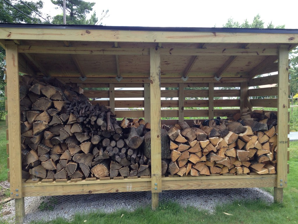 Firewood storage shed | youtu.be/2ylu6ibN_cw | mugs132 ...