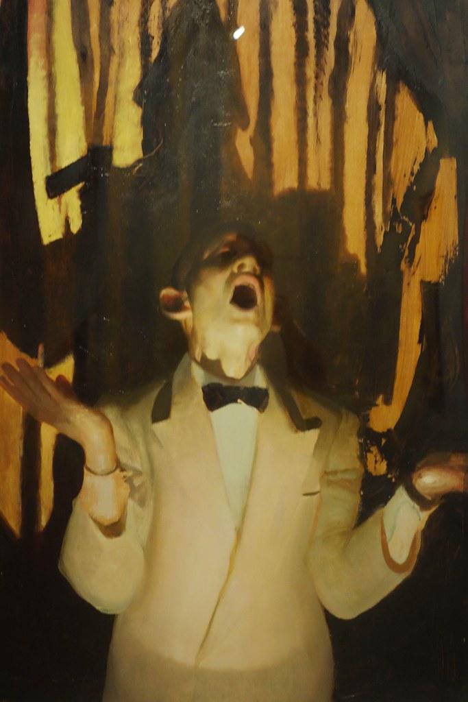 Vincent Desiderio 'Hombre Cantando', (Man Singing) | Flickr Cantando In English