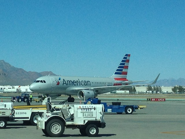 American airlines new livery at el paso tx international for El paso america