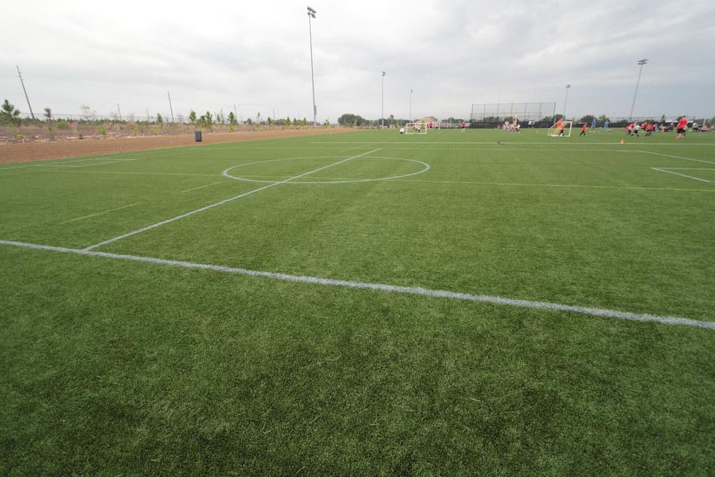 Soccer Field Mobile Wallpaper