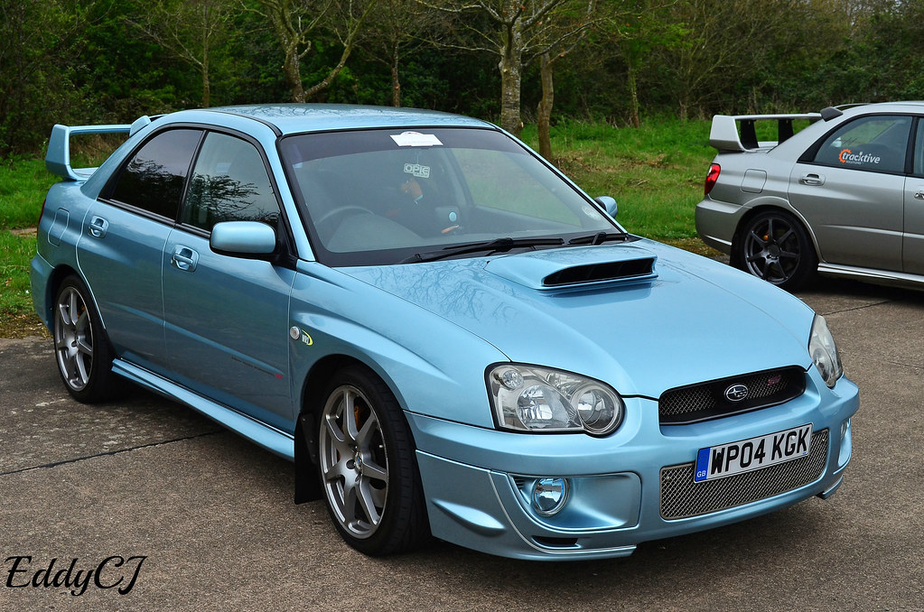 Subaru Impreza Wrx Sti Wr1 A Limited Edition Of The