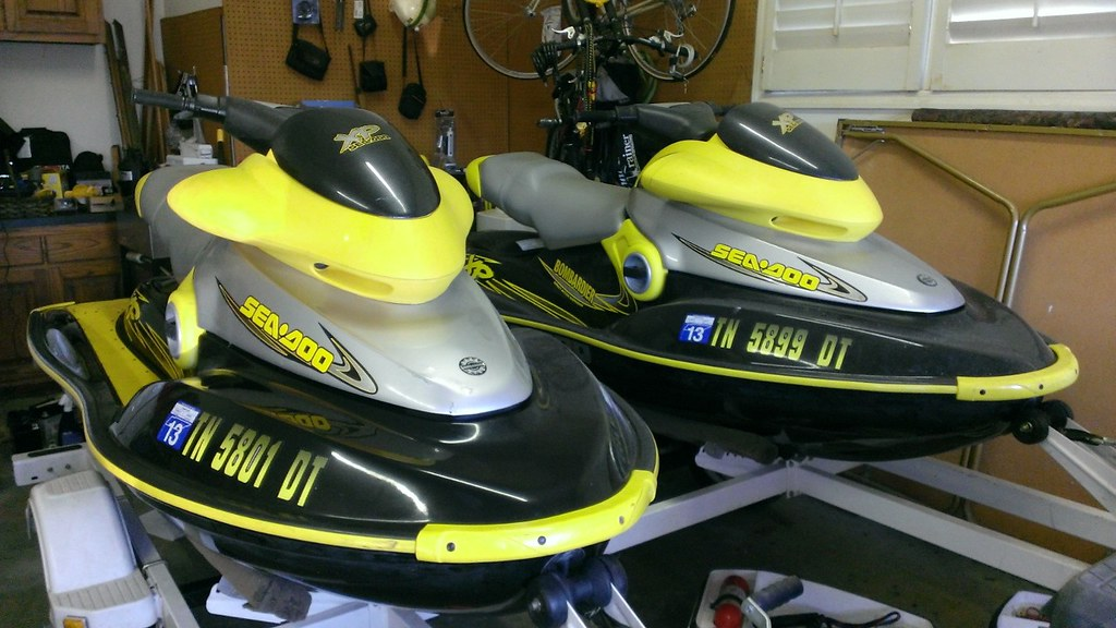 2000 sea doo xp two with tandem trailer for sale by boat flickr. Black Bedroom Furniture Sets. Home Design Ideas