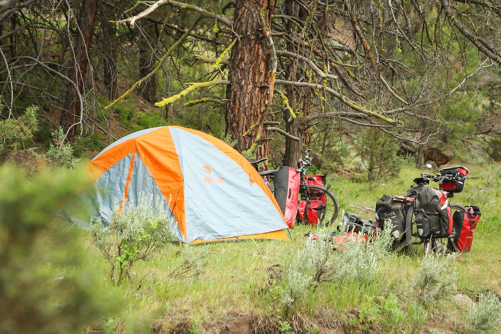 camping in Eastern Oregon