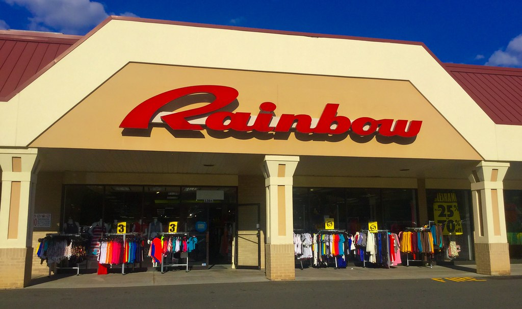 Rainbow clothing store in new orleans